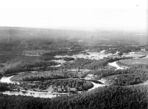 Вид с горы Спасительной. 1920-е гг.